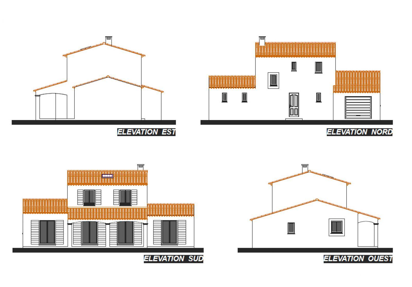 Villa marion for Application plan construction maison