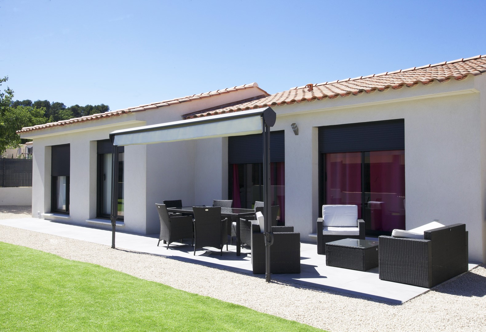 nos derni res r alisations construction de maison aix en. Black Bedroom Furniture Sets. Home Design Ideas