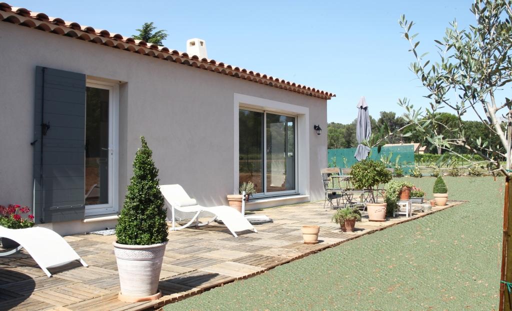 Nos derni res r alisations construction de maison aix en provence provence - Maison couleur provence ...