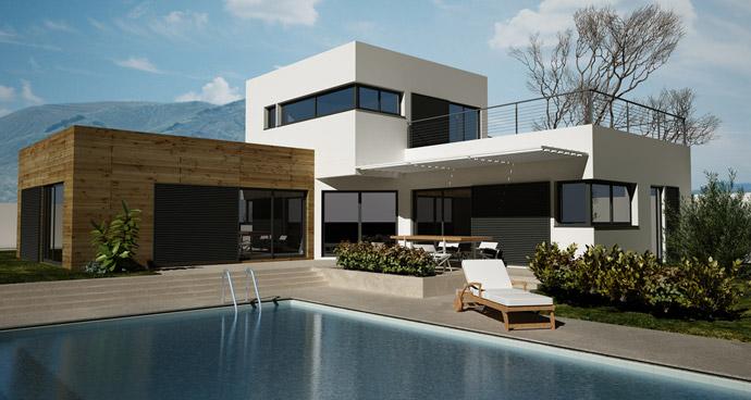 maison contemporaine provence maison contemporaine