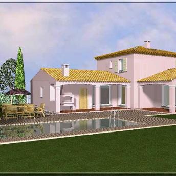 Maison style provencale photo offre vente maison 327 900 - Plan de maison provencale ...