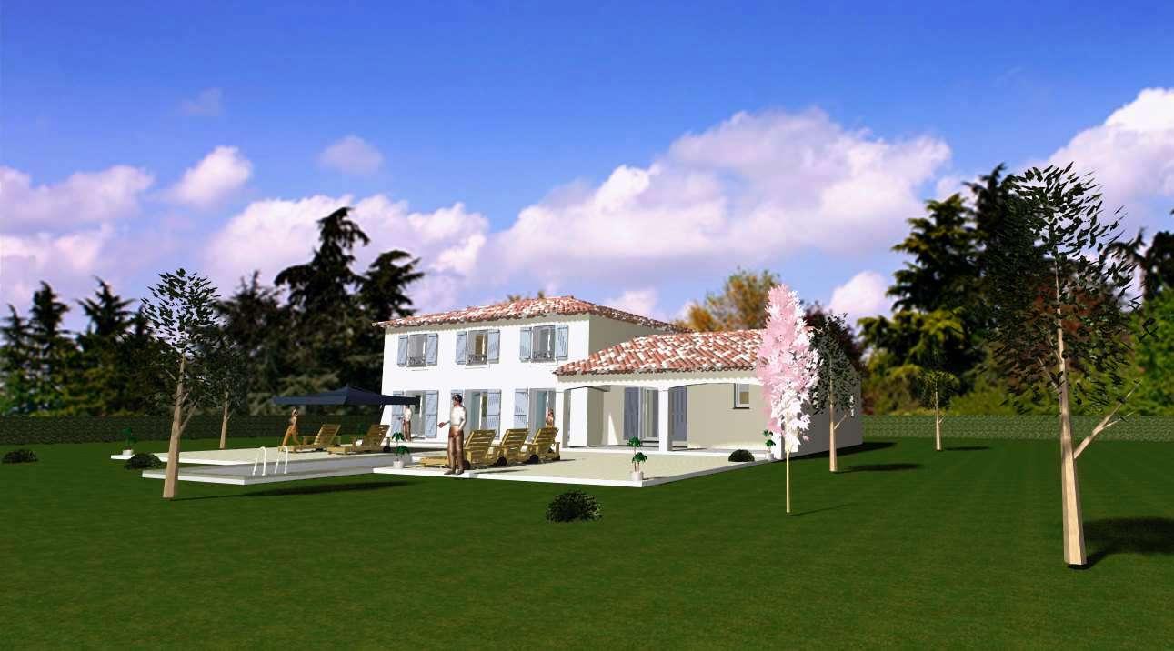 Villa emma plan de maison provence construction de for Constructeur bastide